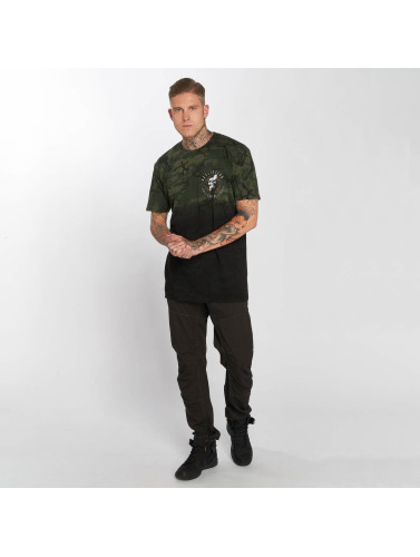 Affliction Hombres Camiseta Assault in camuflaje