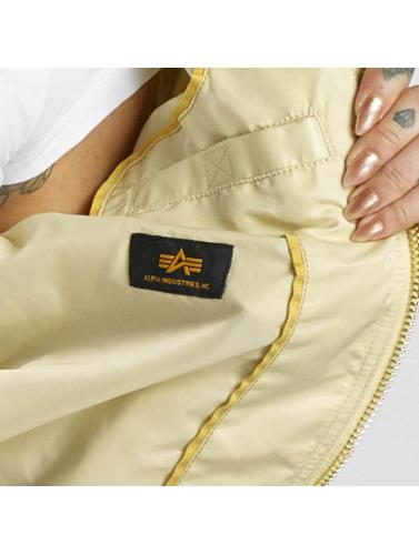 Alpha Industries Damen Bomberjacke MA-1 VF in beige
