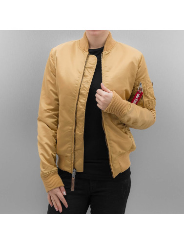 Alpha Industries Damen Bomberjacke MA 1 VF 59 Women in goldfarben