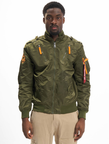 Alpha Industries Herren Bomberjacke Falcon II in grün