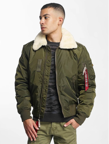 Alpha Industries Herren Bomberjacke Injector III Flight in grün