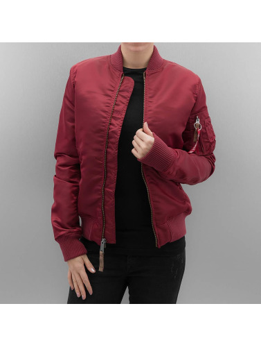 Alpha Industries Damen Bomberjacke MA 1 VF 59 Women in rot