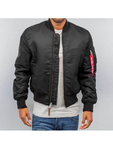 Alpha Industries Herren Bomberjacke Ma 1 Vf 59 in schwarz