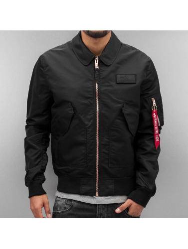 Alpha Industries Herren Bomberjacke CWU LW PM in schwarz