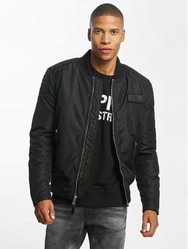 Alpha Industries Herren Bomberjacke Speedway Flight in schwarz