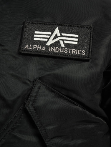 Alpha Industries Herren Bomberjacke CWU/45P Flight in schwarz