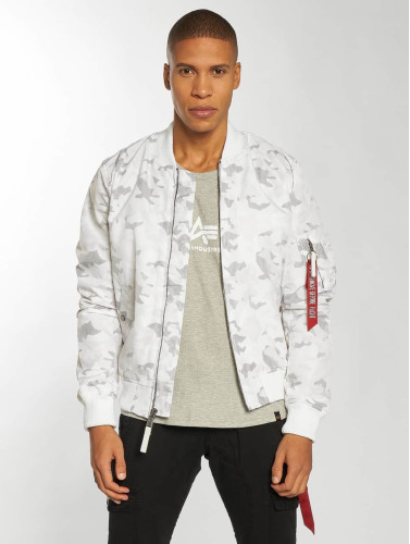 Alpha Industries Herren Bomberjacke MA-1 TT in weiß