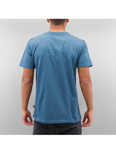 Alpha Industries Hombres Camiseta Basic in azul