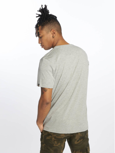 Alpha Industries Hombres Camiseta Basic in gris