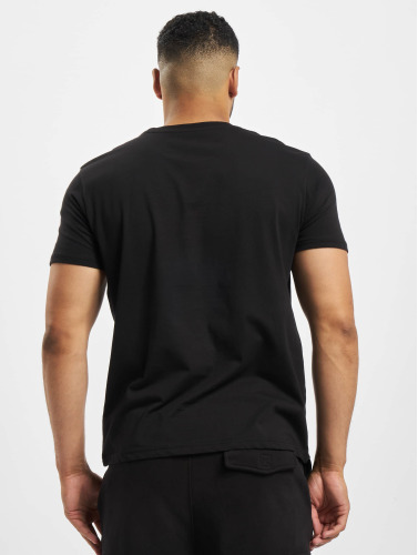 Alpha Industries Hombres Camiseta Basic in negro