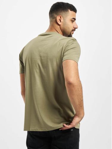 Alpha Industries Hombres Camiseta Basic in oliva