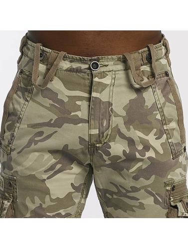 Alpha Industries Herren Cargohose Tough C in camouflage