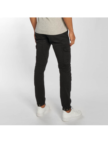 Alpha Industries Herren Cargohose Fuel in schwarz
