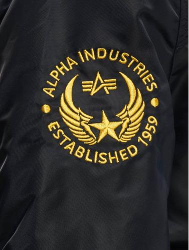 Alpha Industries Hombres Cazadora bomber Falcon II in azul