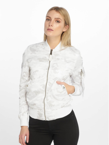 Alpha Industries Mujeres Cazadora bomber MA-1 VFLW in blanco
