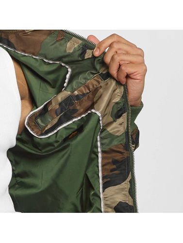 Alpha Industries Hombres Cazadora bomber MA-1 VF LW in camuflaje