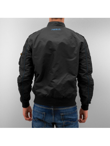Alpha Industries Hombres Cazadora bomber Falcon II in negro