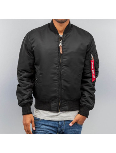 Alpha Industries Hombres Cazadora bomber Ma 1 Vf 59 in negro