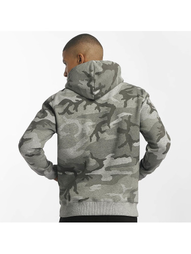 Alpha Industries Herren Hoody Foam Print in grau