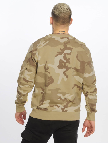 Alpha Industries Hombres Jersey X-Fit in camuflaje