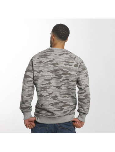 Alpha Industries Hombres Jersey X-Fit in gris