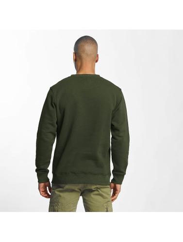 Alpha Industries Hombres Jersey 3D in verde