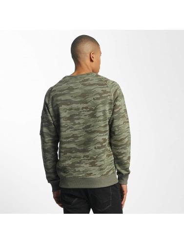 Alpha Industries Herren Pullover X-Fit in camouflage