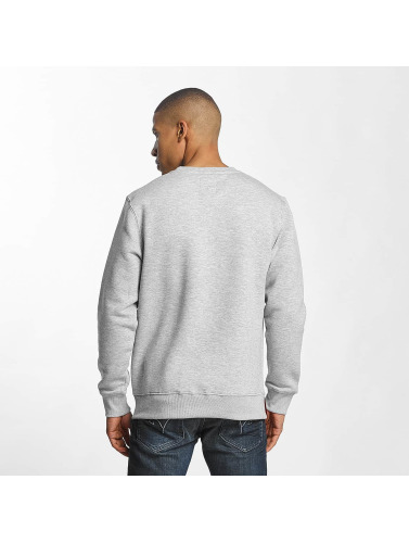 Alpha Industries Herren Pullover 3D in grau