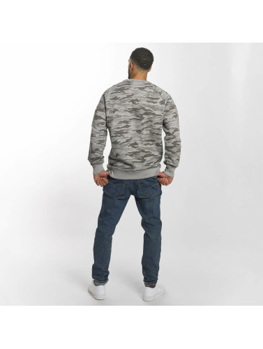 Alpha Industries Herren Pullover X-Fit in grau
