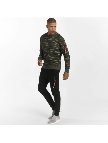 Alpha Industries Herren Pullover X-Fit in grün