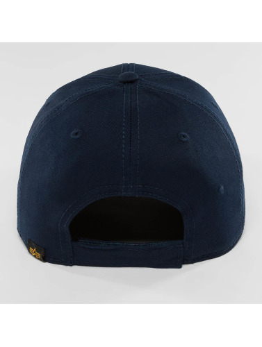 Alpha Industries Snapback Cap X-Fit II in blau