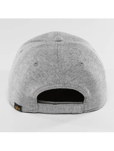 Alpha Industries Snapback Cap X-Fit II in grau