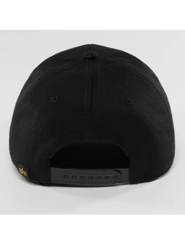 Alpha Industries Snapback Cap NASA in schwarz