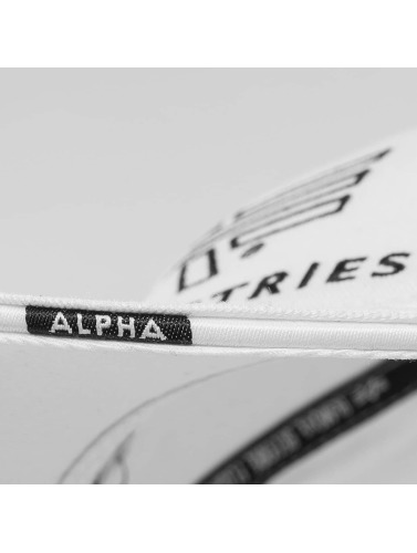 Alpha Industries Snapback Cap Big A Classic in weiß