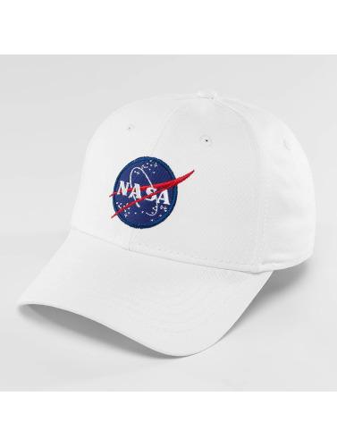 Alpha Industries Snapback Cap NASA in weiß