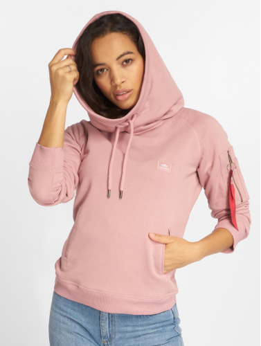 Alpha Industries Mujeres Sudadera X-Fit in fucsia