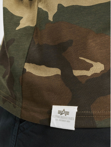 Alpha Industries Herren T-Shirt Blurred in camouflage