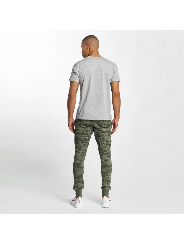 Alpha Industries Herren T-Shirt 3D in grau