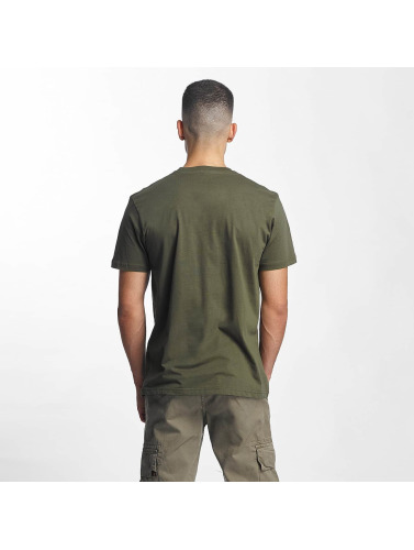 Alpha Industries Herren T-Shirt 3D in grün