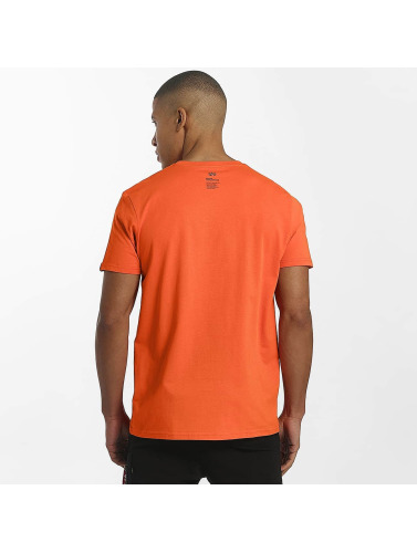 Alpha Industries Herren T-Shirt Star in orange