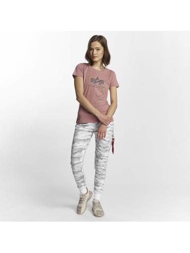 Die Günstigste Zum Verkauf Alpha Industries Damen T-Shirt Logo in pink Freies Verschiffen Offiziell Billig Kaufen 269srcl1gv