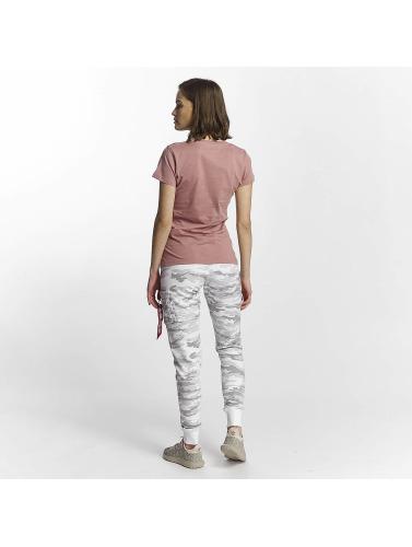 Alpha Industries Damen T-Shirt Logo in pink Billig Sehr Billig Freies Verschiffen Offiziell Visa-Zahlung Viele Arten Rabatt Fabrikverkauf DI8FDxUY