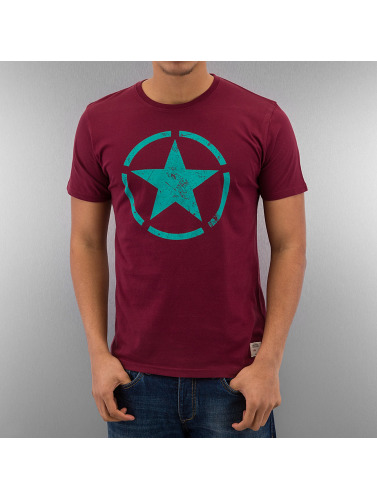 Alpha Industries Herren T-Shirt Star in rot