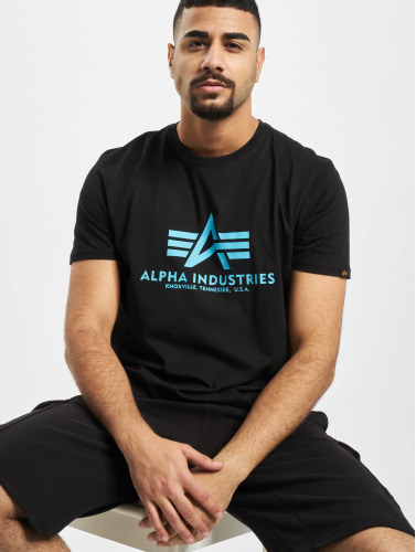 Alpha Industries Herren T-Shirt Basic in schwarz