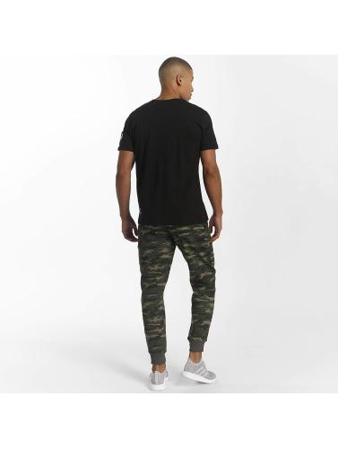 Alpha Industries Herren T-Shirt Army in schwarz