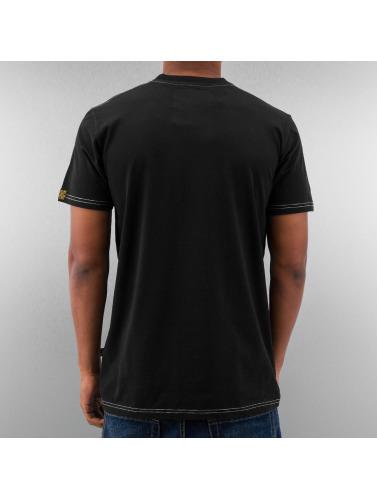 Alpha Industries Herren T-Shirt Star in schwarz