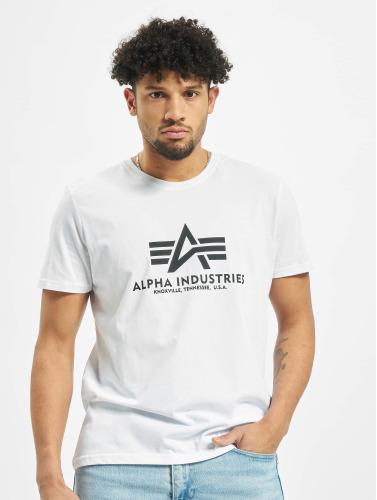Alpha Industries Herren T-Shirt Basic in weiß