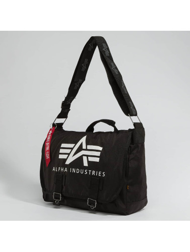 Alpha Industries Tasche Big A Oxford Courier in schwarz