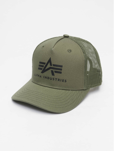 Alpha Industries Trucker Cap Basic in grün