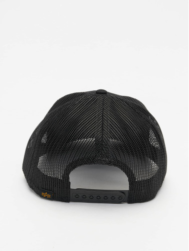 Alpha Industries Trucker Cap Basic in schwarz